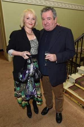 Miranda Richardson and Ken Stott