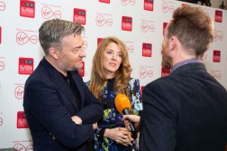 Charlie Brooker and Annabel Jones speak to Toby Earle of London Live