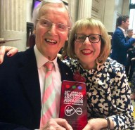 Nicholas Parsons with Marilyn Lee