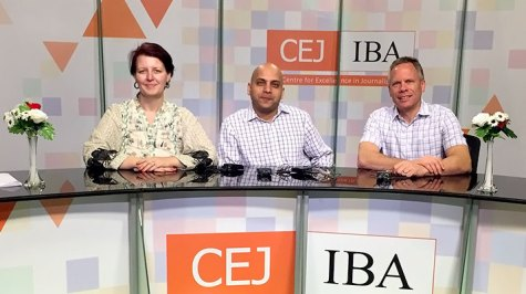 International Center for Journalists, ICFJ, Broadcast Consulting