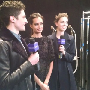 Live Video Production Interview Lincoln Center Fashion Week