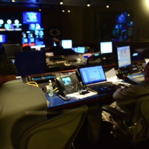 Video Production Control Room DC Hillary Clinton Townhall