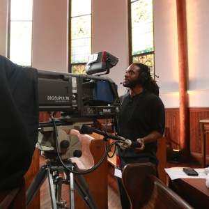 Video Production Crew PBS America After Charleston