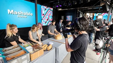 The Mashable Show Live at SXSW, Live Production