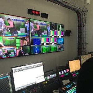 Driss in Control room