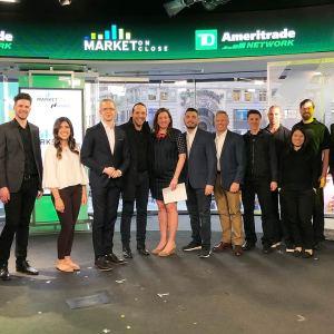 TD Ameritrade Morning Trade Live Cast Photo