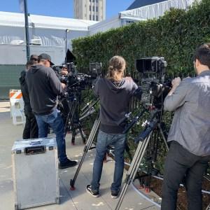 Live Video Produciton Vanity Fair Oscars Party Show