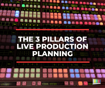 The 3 Pillars of Live Production Planning