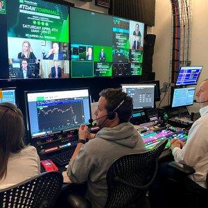 TDA Virtual Town Hall Control Room