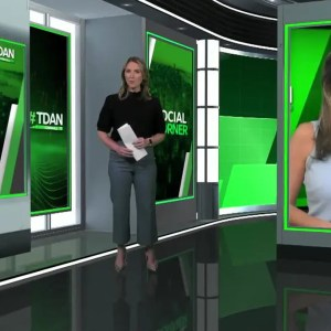 TD Ameritrade Virtual Town Hall Virtual Set