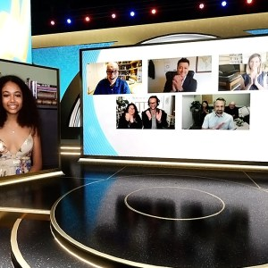 Virtual Set Example   V Stage (Emmy Set)