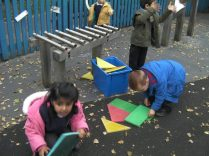 Can you remember what shapes you found?