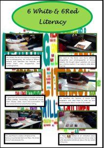Litearacy Portfolio Page Autumn 2