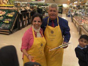 Mrs Patel & Mr Tesco!