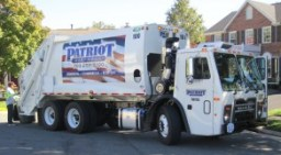 patriot truck in neighboorhood