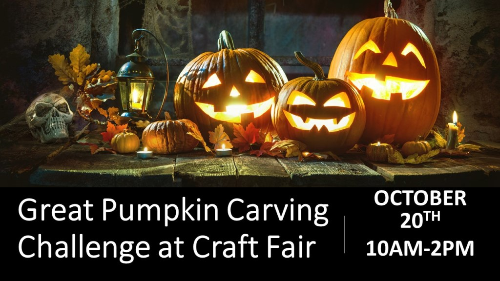 Great Pumpkin Carving Challenge At The Broadlands Craft Fair
