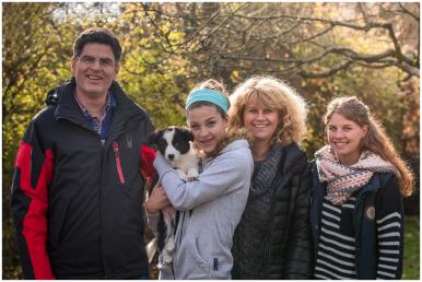 14|11|2015 – »Finja« lebt mit Christiane, Stefan, Tessa, Tanja und Thorsten in Essen