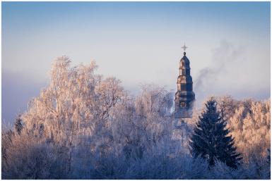 November: Erster Schnee