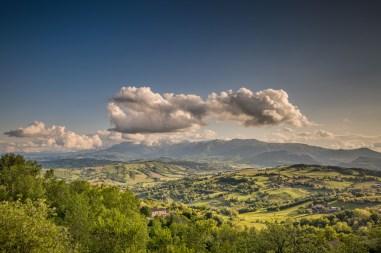 17|05|2016 – Blick auf die Sibillini von San Ginesio