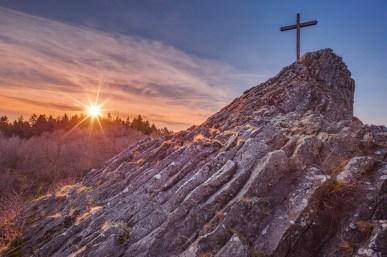 26|03|2016 – Sonnenuntergang am Druidenstein