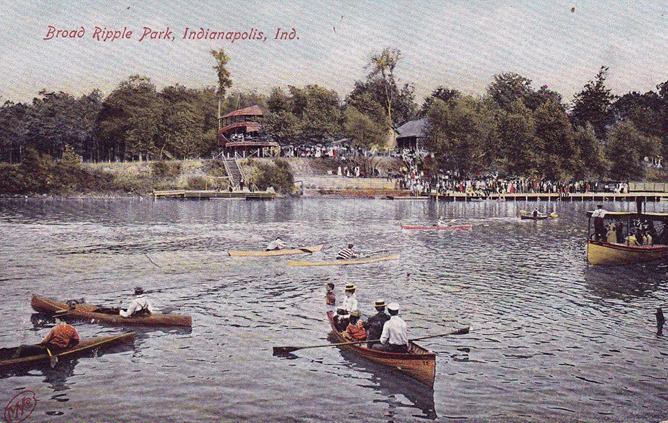 Canoe-post-card