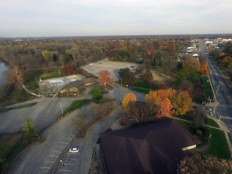 Broad Ripple Park East view