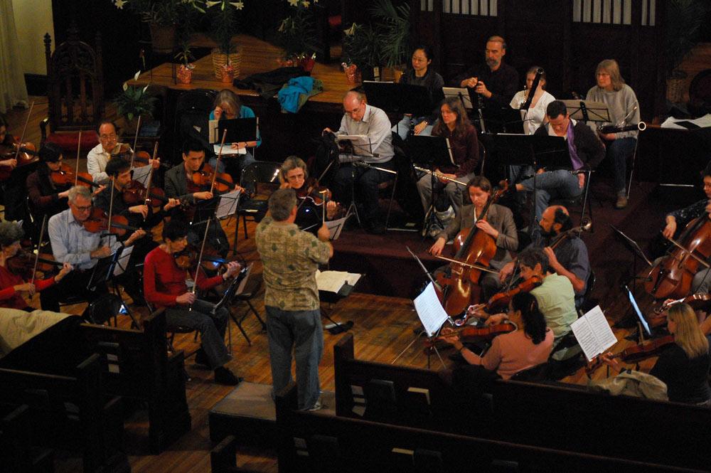 Spring 2011 Rehearsal Photos