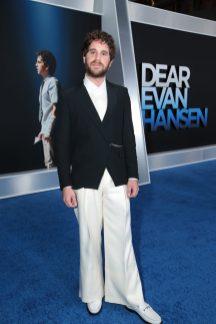 Ben Platt attends as Universal Pictures presents the premiere of DEAR EVAN HANSEN at the Walt Disney Concert Hall on Wednesday, September 22, 2021. (Photo: Ben Shmikler/ABImages)