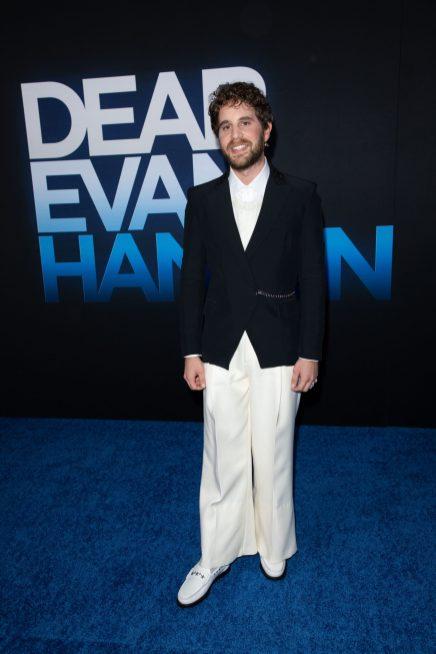 Ben Platt attends as Universal Pictures presents the premiere of DEAR EVAN HANSEN at the Walt Disney Concert Hall on Wednesday, September 22, 2021. (Photo: Alex J. Berliner/ABImages)