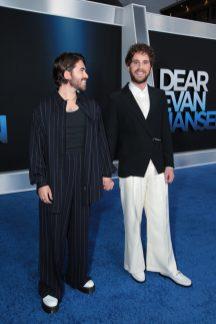 Noah Galvin and Ben Platt attend as Universal Pictures presents the premiere of DEAR EVAN HANSEN at the Walt Disney Concert Hall on Wednesday, September 22, 2021. (Photo: Ben Shmikler/ABImages)