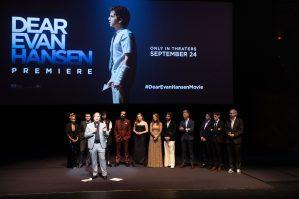 Universal Pictures presents the premiere of DEAR EVAN HANSEN at the Walt Disney Concert Hall on Wednesday, September 22, 2021. (Photo: Alex J. Berliner/ABImages)
