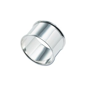 Hallmarked silver napkin ring