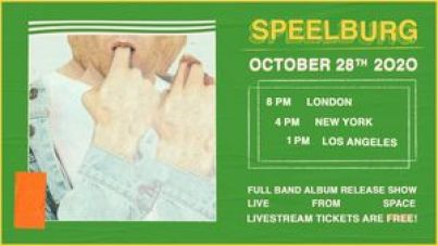 SPEELBURG To Perform Full Band Livestream Concert Wednesday, October 28th