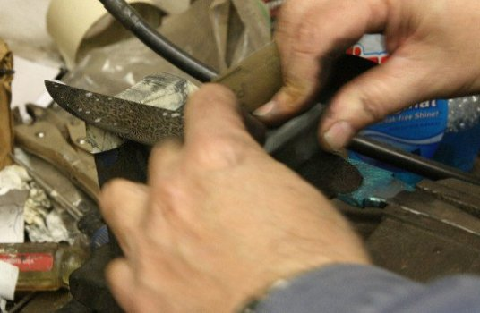 Polishing the high layer