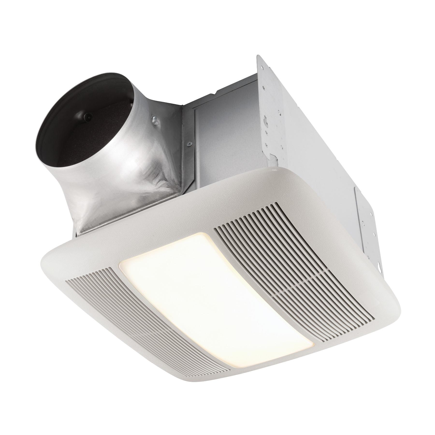 broan bathroom fan cover with light