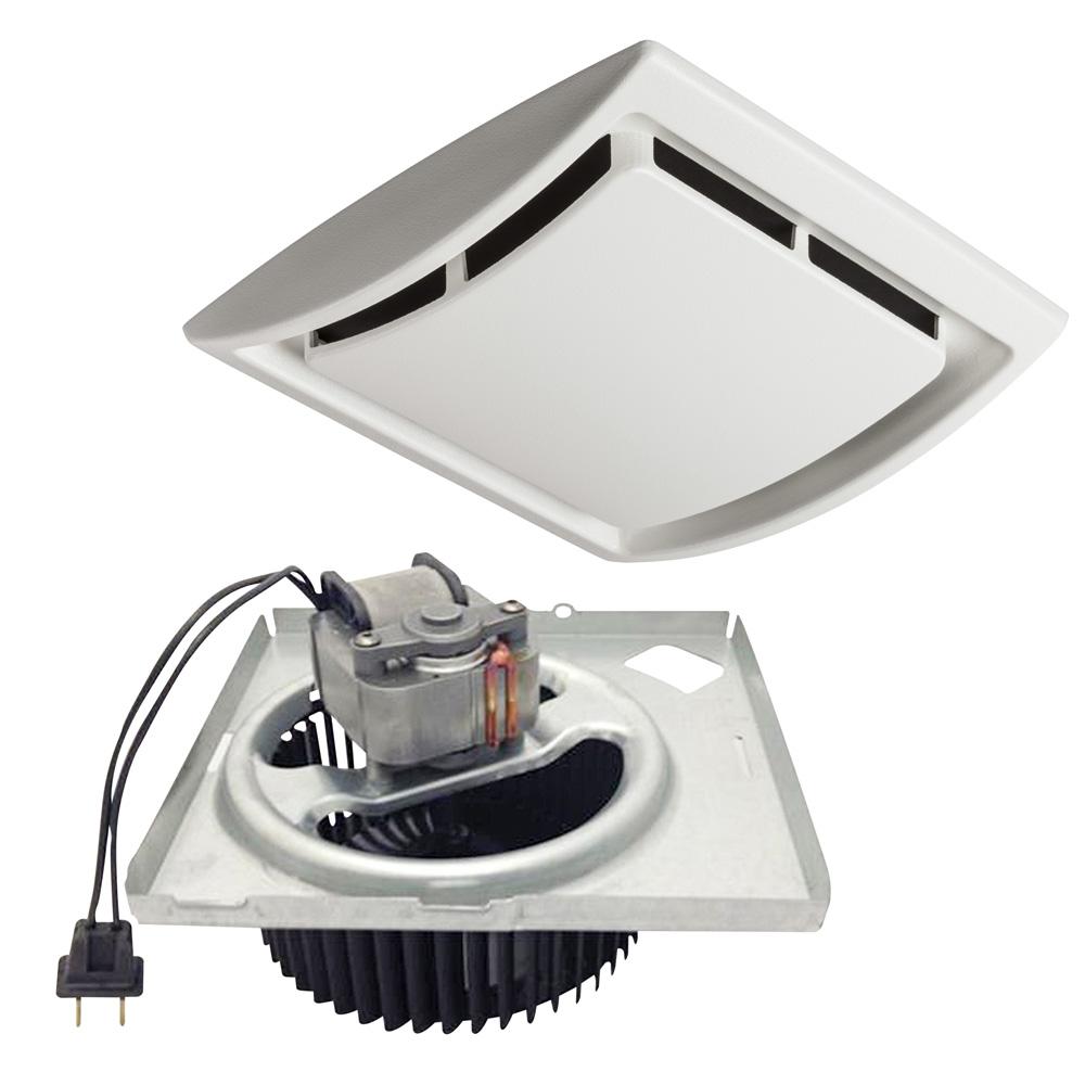 install bathroom exhaust fan motor