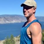 Photo of Brock hiking