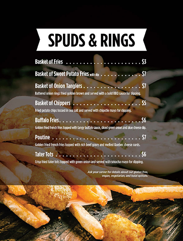 Spuds and Rings