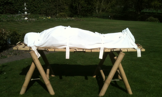 Image result for burial shroud