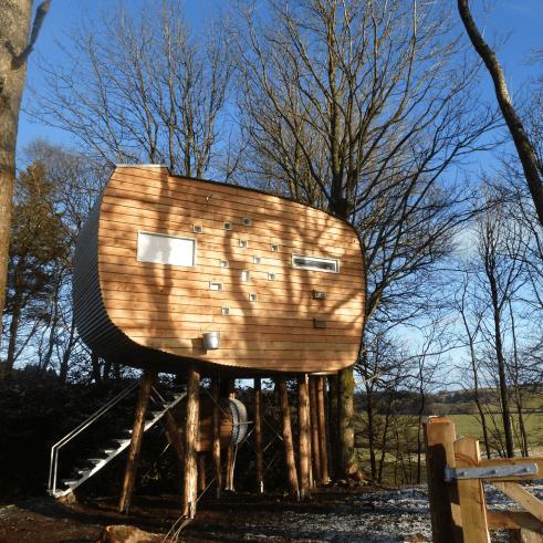 Brockloch Bothy - Eco Holiday Treehouse