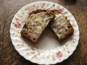 lakeland tea bread on plate