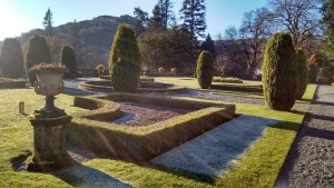Rydal Hall Gardens on a beautiful crisp November Day- a short walk from Brockstone cottage