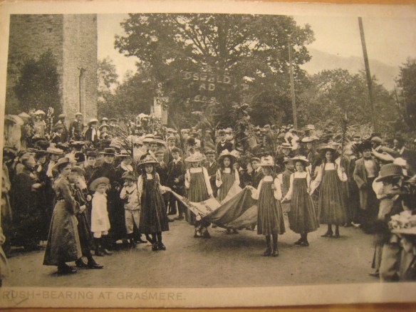 old grasmere rushbearing