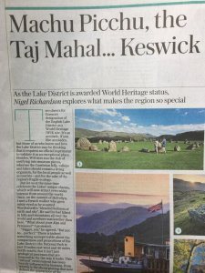 Lake District telegraph