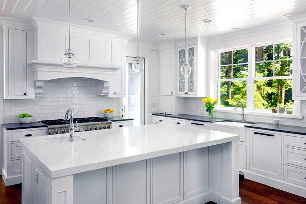 The all-white kitchen: Pros and cons   Broderick Builders
