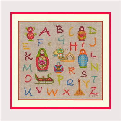 abecedaire point de croix