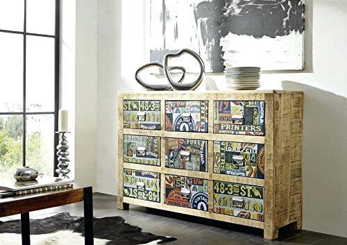 cassettiera vintage dmc