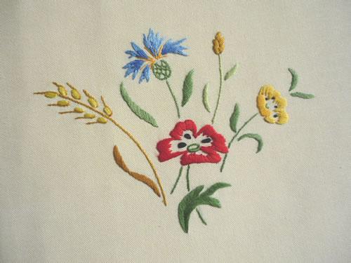 fleurs a broder