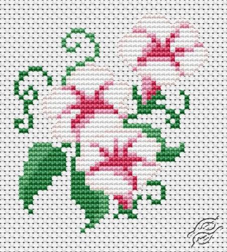 free cross stitch patterns flowers