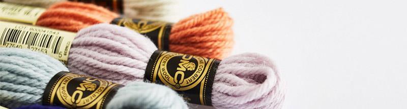 laine colbert dmc pour tapisserie